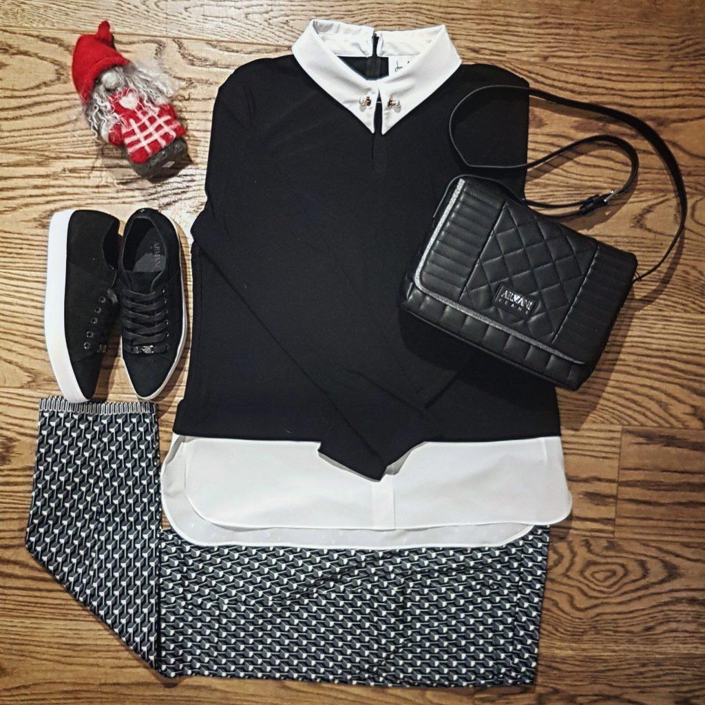 Outfit Joseph Ribcoff, Cambio och Armani Jeans