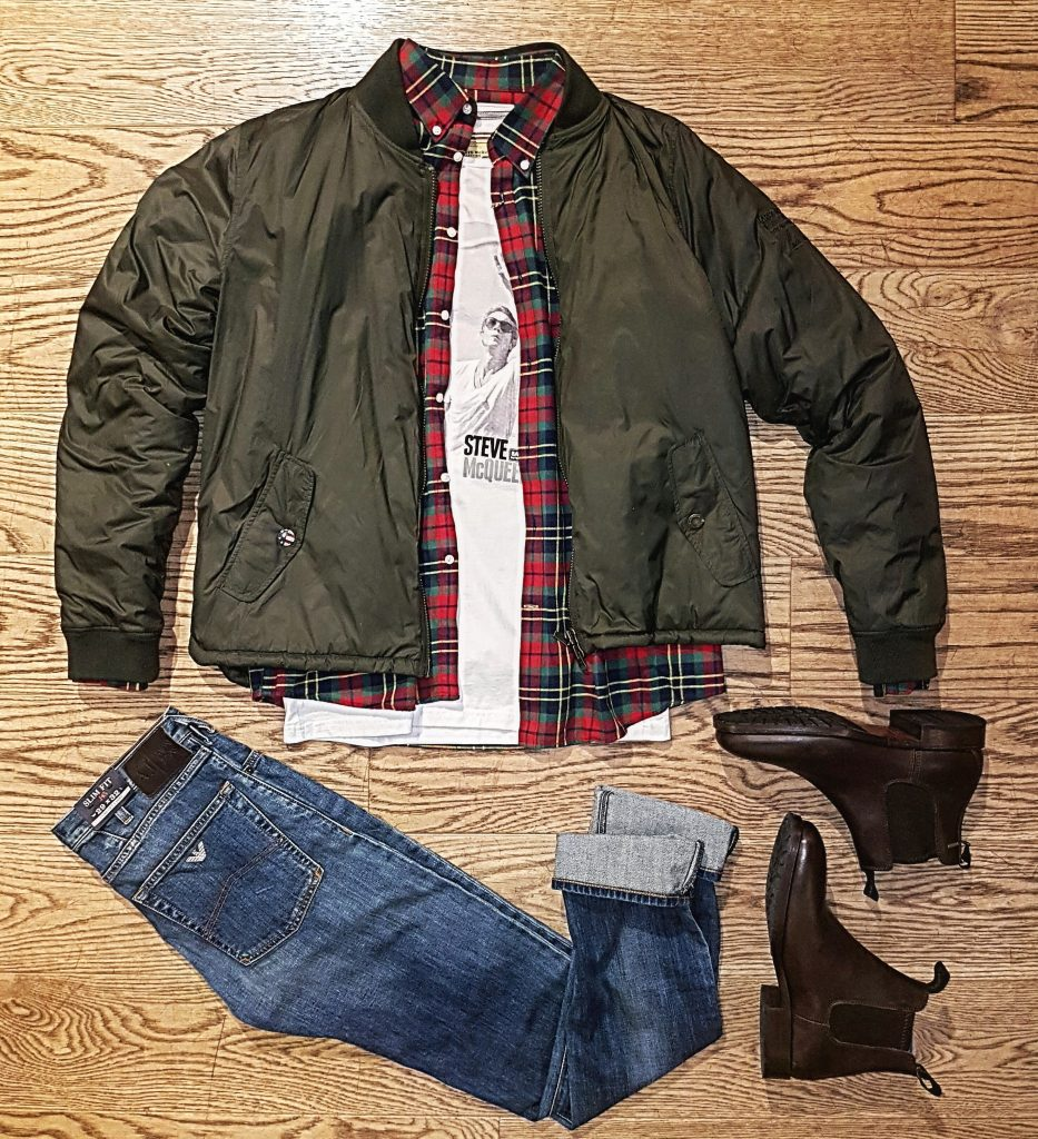 Barbour outfit