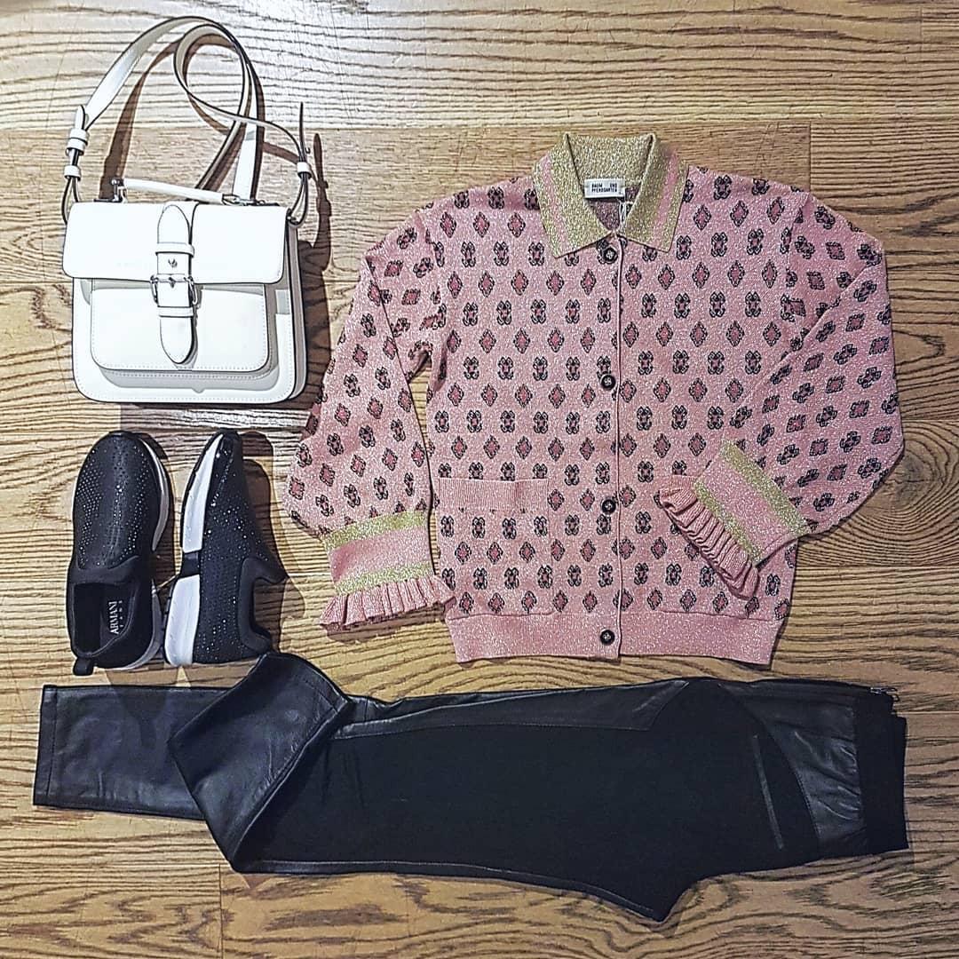 Baumundpferdgarden rosa cardigan