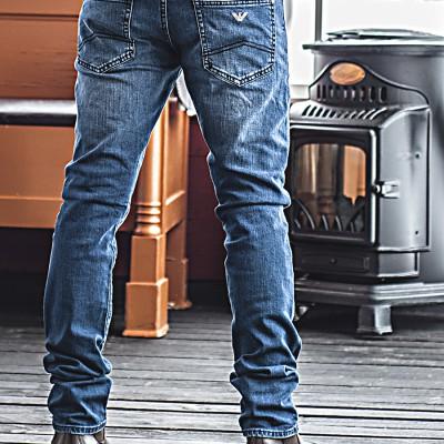 Armani Jeans.